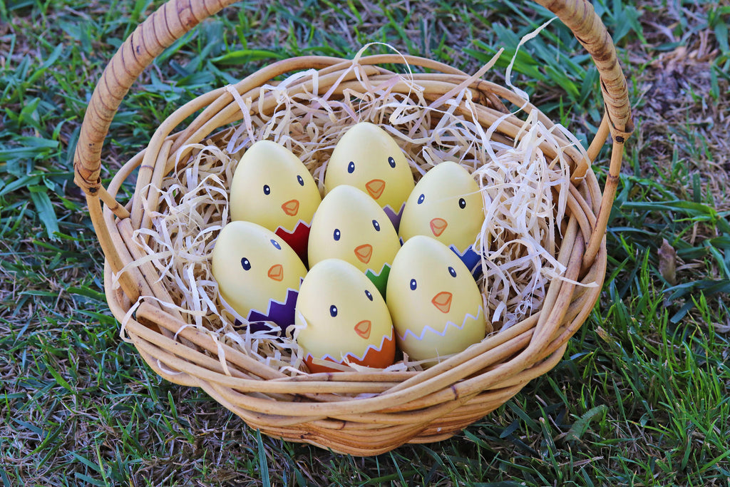 Rainbow Easter Egg Chicks
