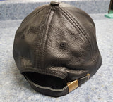 Leather Bear Cap