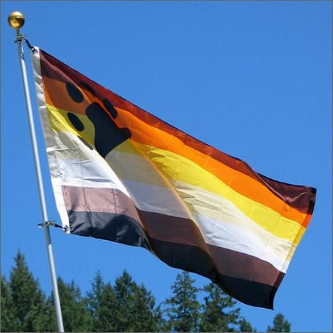 Bear Pride Flag 3' X 5'