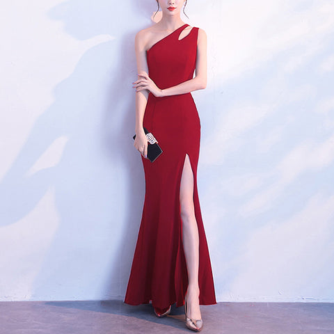 Sexy party long banquet evening dress