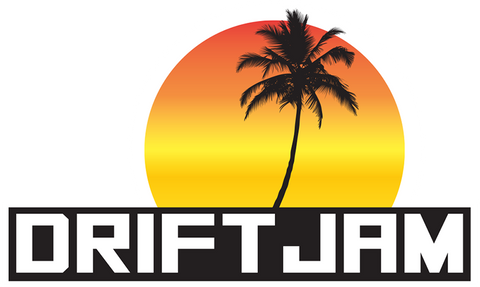 Drift Jam Beach Series Sticker Slap - Sunset Block