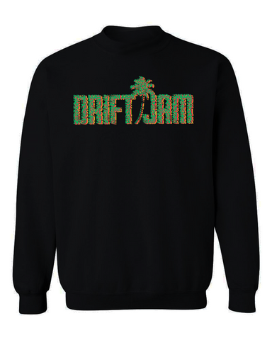 Drift Jam Tri-Color Crewneck Sweater