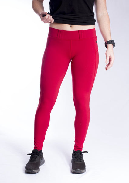 Women's Vakandi EDC Leggings - Chili Pepper