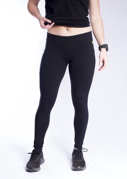 Women's EDC Long Length Leggings - Black