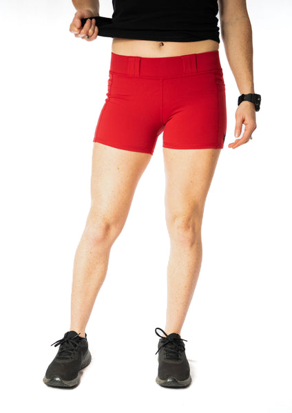 Women's Compression Carry Shorts - Chili
