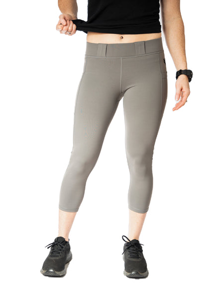 Women's Carry Capri - Gray