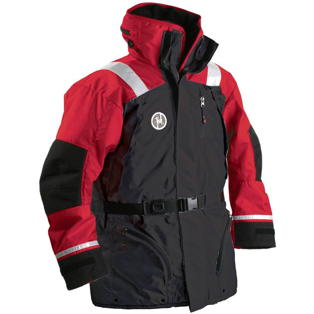 First Watch AC-1100 Flotation Coat - Red/Black - X-Large [AC-1100-RB-XL] | Catamaran Supply