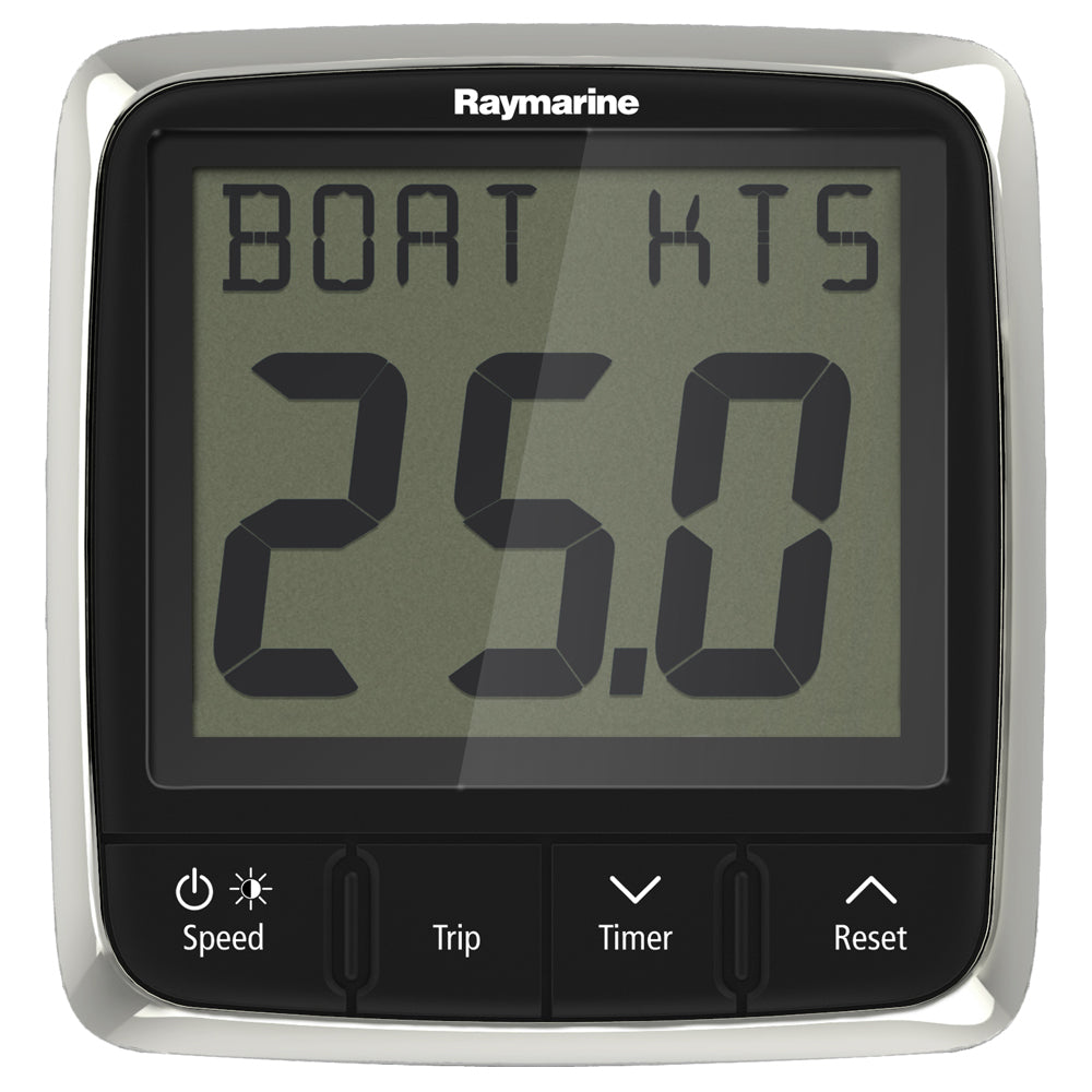 Raymarine i50 Speed Display System w/Nylon Thru-Hull Transducer [E70147] | Catamaran Supply