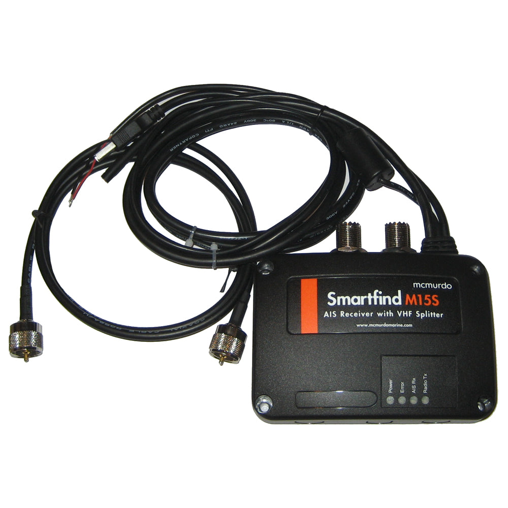 McMurdo SmartFind M15S AIS Receiver/Splitter [21-300-002A] | Catamaran Supply