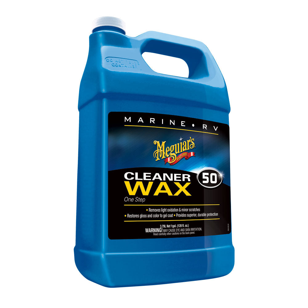 Meguiar's #50 Boat/RV Cleaner Wax - Liquid 1 Gallon [M5001]