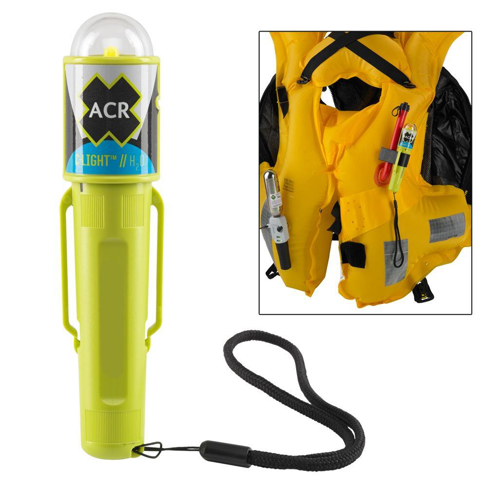ACR C-Light H20 - Water Activated LED PFD Vest Light w/Clip [3962.1] | Catamaran Supply