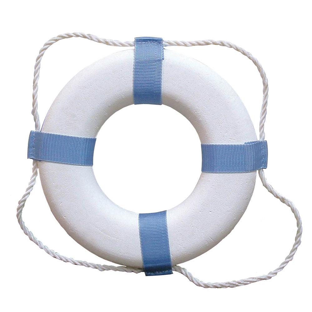 "Taylor Made Decorative Ring Buoy - 20"" - White/Blue - Not USCG Approved [372] 