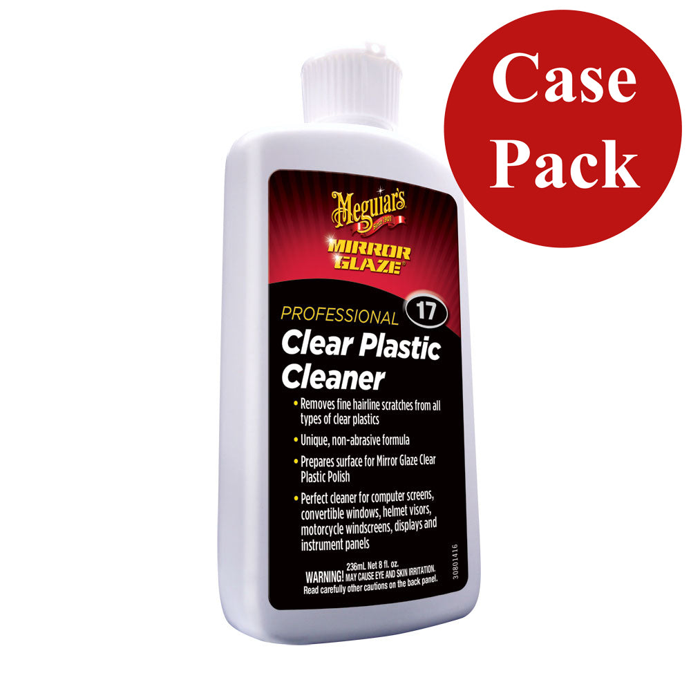 Meguiars M17 Mirror Glaze Clear Plastic Cleaner - *Case of 6* [M1708CASE]