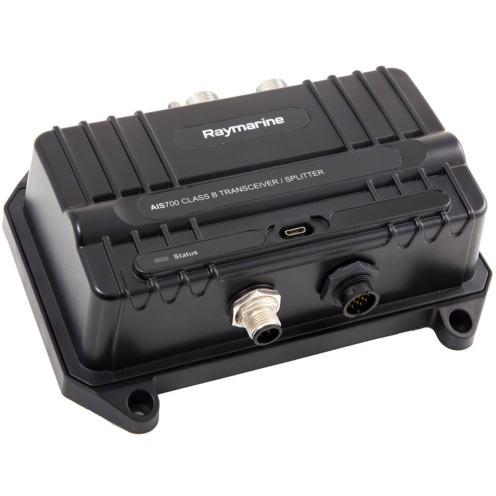 Raymarine AIS700 Class B AIS Transceiver w/Antenna Splitter [E70476] | Catamaran Supply