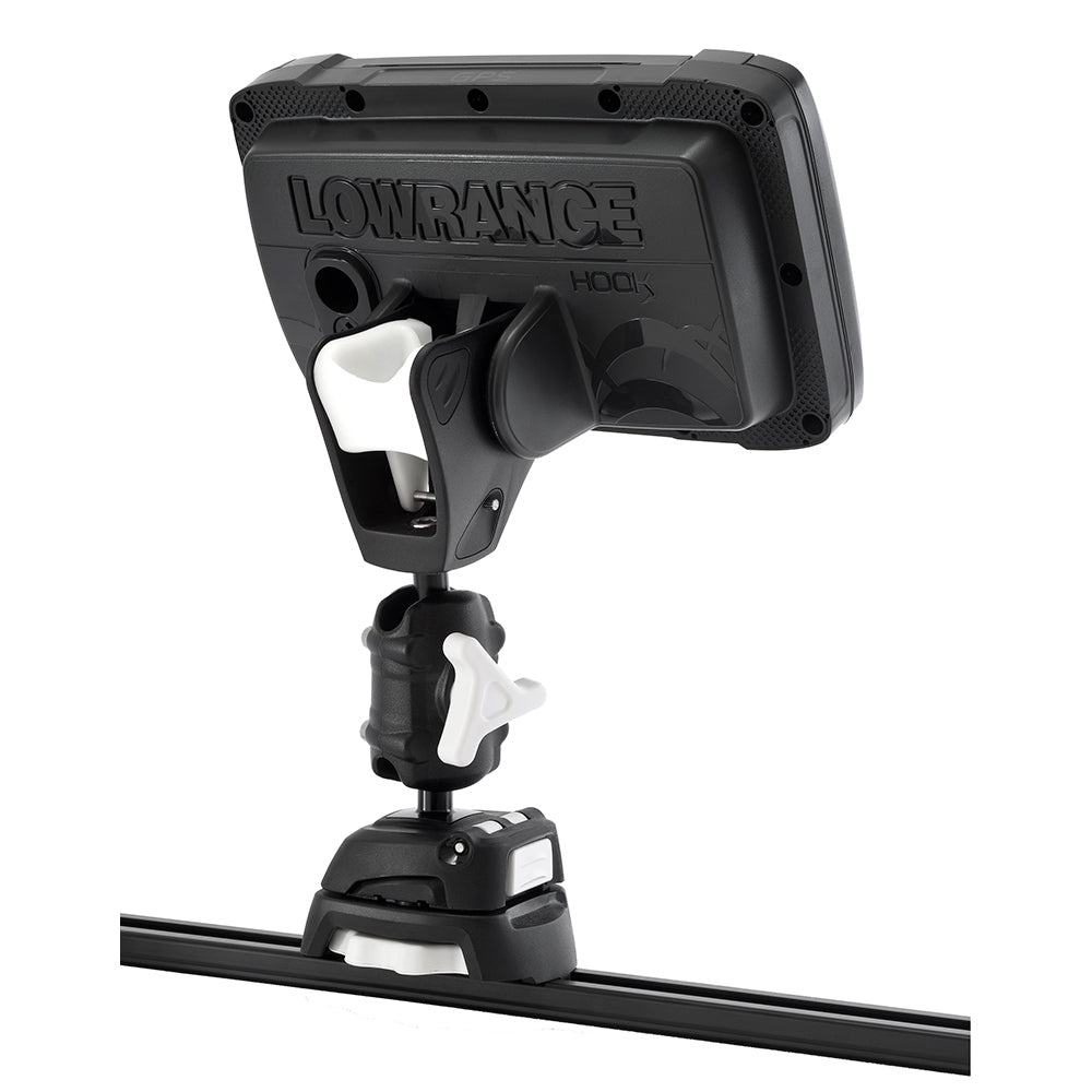 Scanstrut ROKK Mini Pro Mount Kit w/Kayak Track Base f/Lowrance HOOK2 [RLS-521-407]