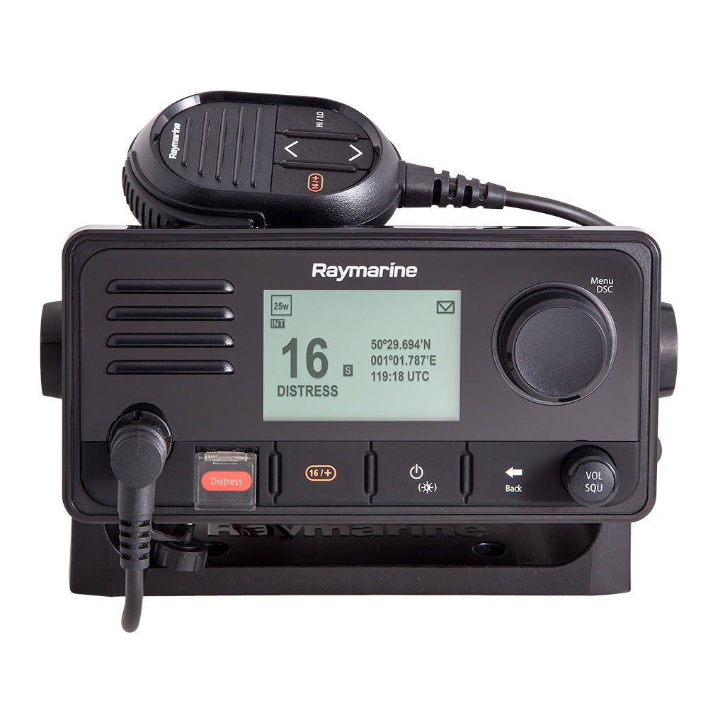 Raymarine Ray73 VHF Radio w/AIS Receiver [E70517] | Catamaran Supply