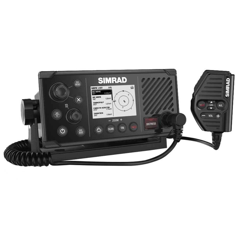 Simrad RS40-B VHF Radio w/Class B AIS Transceiver  Internal GPS [000-14473-001] | Catamaran Supply