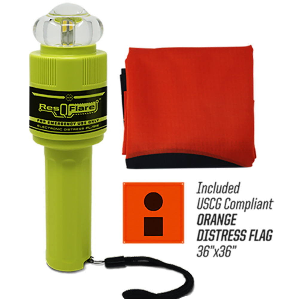 ACR ResQFlare Electronic Flare  Flag [3966] | Catamaran Supply
