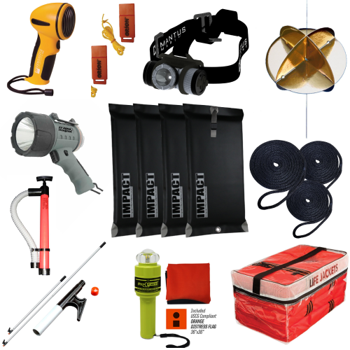 Safety & Accessory Starter Kit for Boats 26.3' to 39.4' | Catamaran Supply