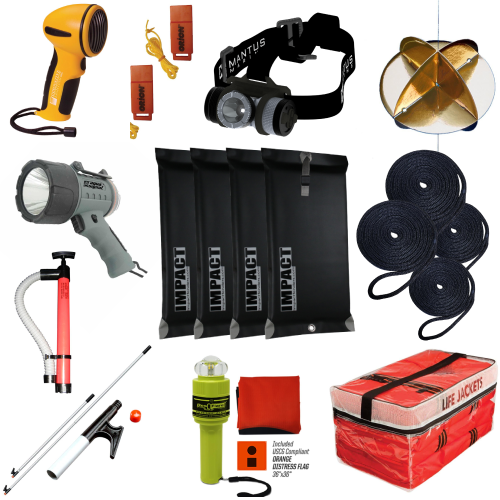 Safety & Accessory Starter Kit for Boats 39.5' - 65' | Catamaran Supply
