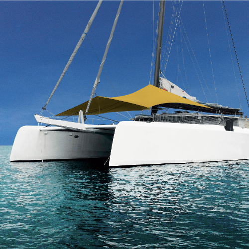 Canopee Sun Shade for Seawind 1260 | Catamaran Supply