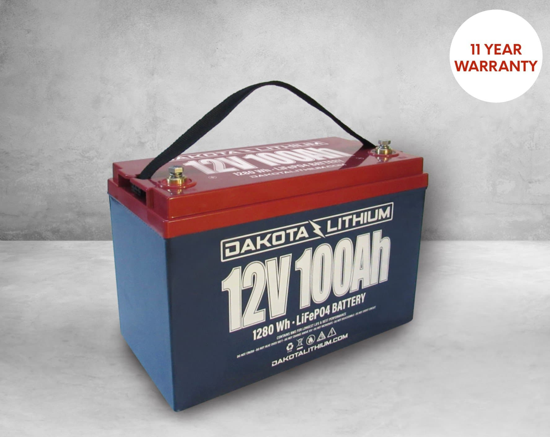 Dakota Lithium - 100Ah LiFePO4 Deep Cycle Battery