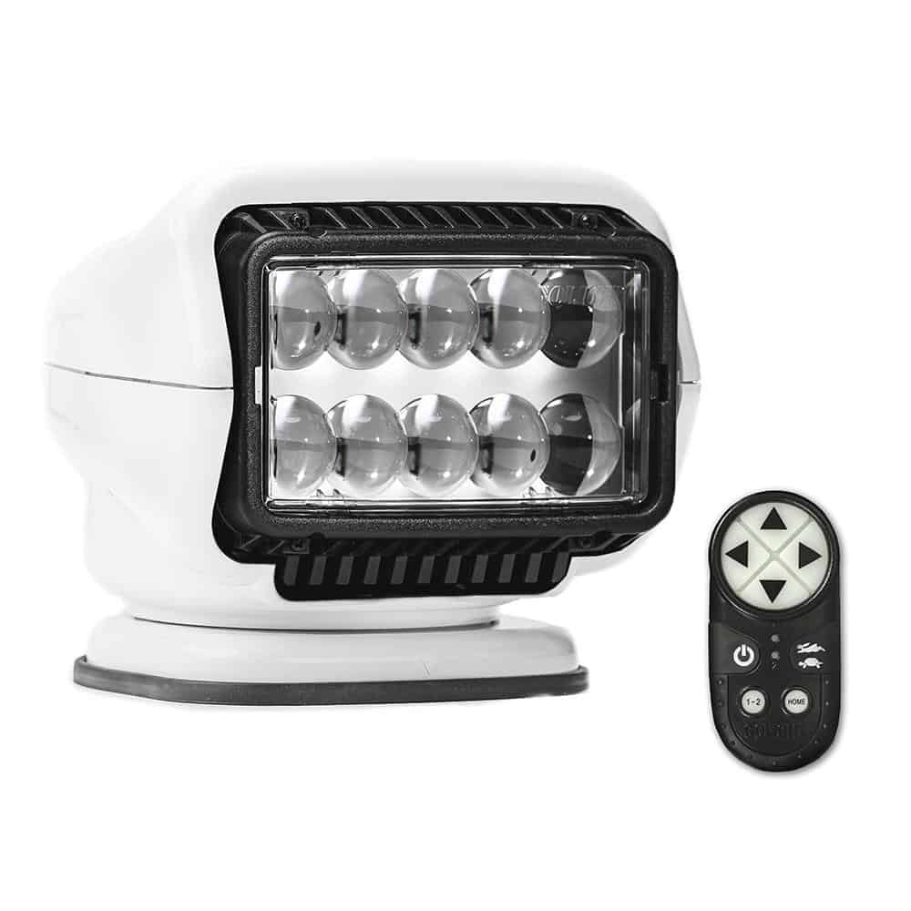 Golight Stryker ST Series Permanent Mount White LED w/Wireless Handheld Remote [30004ST] | Catamaran Supply
