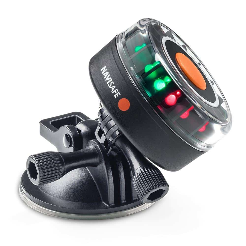 Navisafe Navilight Tricolor 2NM w/Suction Base [341-1] | Catamaran Supply