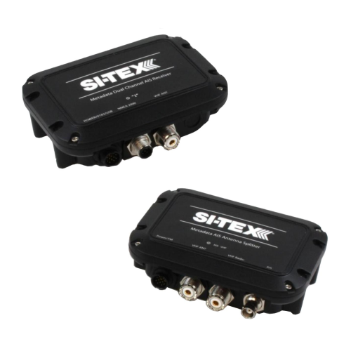 Si-Tex MDA-2 AIS Receiver & MDA-3 Antenna Splitter Bundle | Catamaran Supply