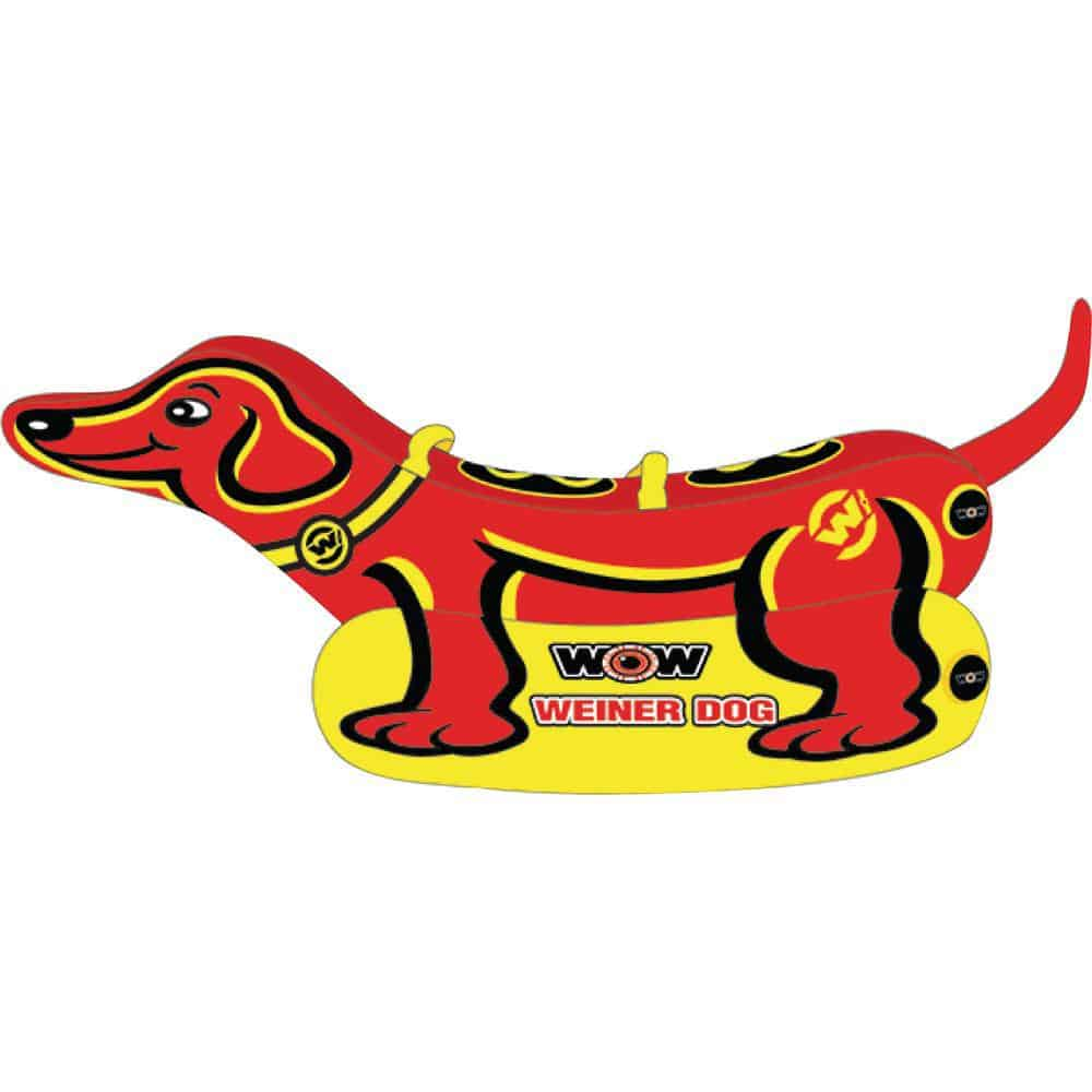 WOW Watersports Weiner Dog 2 Towable - 2 Person [19-1000]