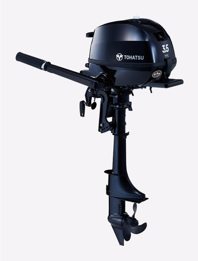 Tohatsu 3.5hp Outboard MFS3.5 | Catamaran Supply