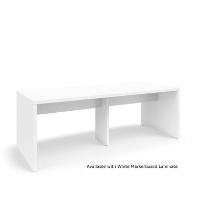 "Serenade Gathering Table, Café Height, Double-Sided, 48"" x 120"" x 42""H, Non-Contrast Laminate"