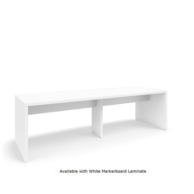 "Serenade Gathering Table, Café Height, Double-Sided, 48"" x 144"" x 42""H, Non-Contrast Laminate"