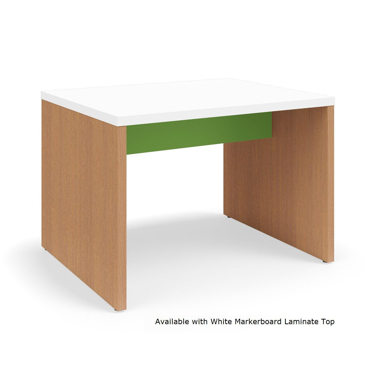"Serenade Gathering Table, Café Height, Double-Sided, 48"" x 60"" x 42""H, Contrast Laminate"