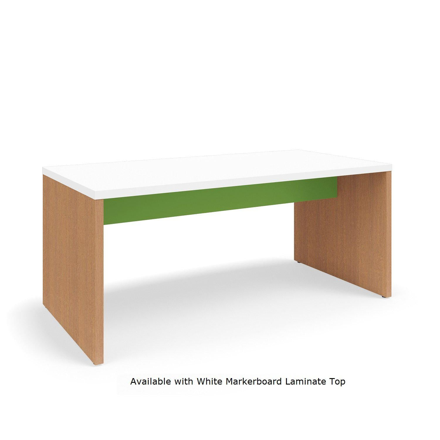 "Serenade Gathering Table, Café Height, Double-Sided, 48"" x 96"" x 42""H, Contrast Laminate"