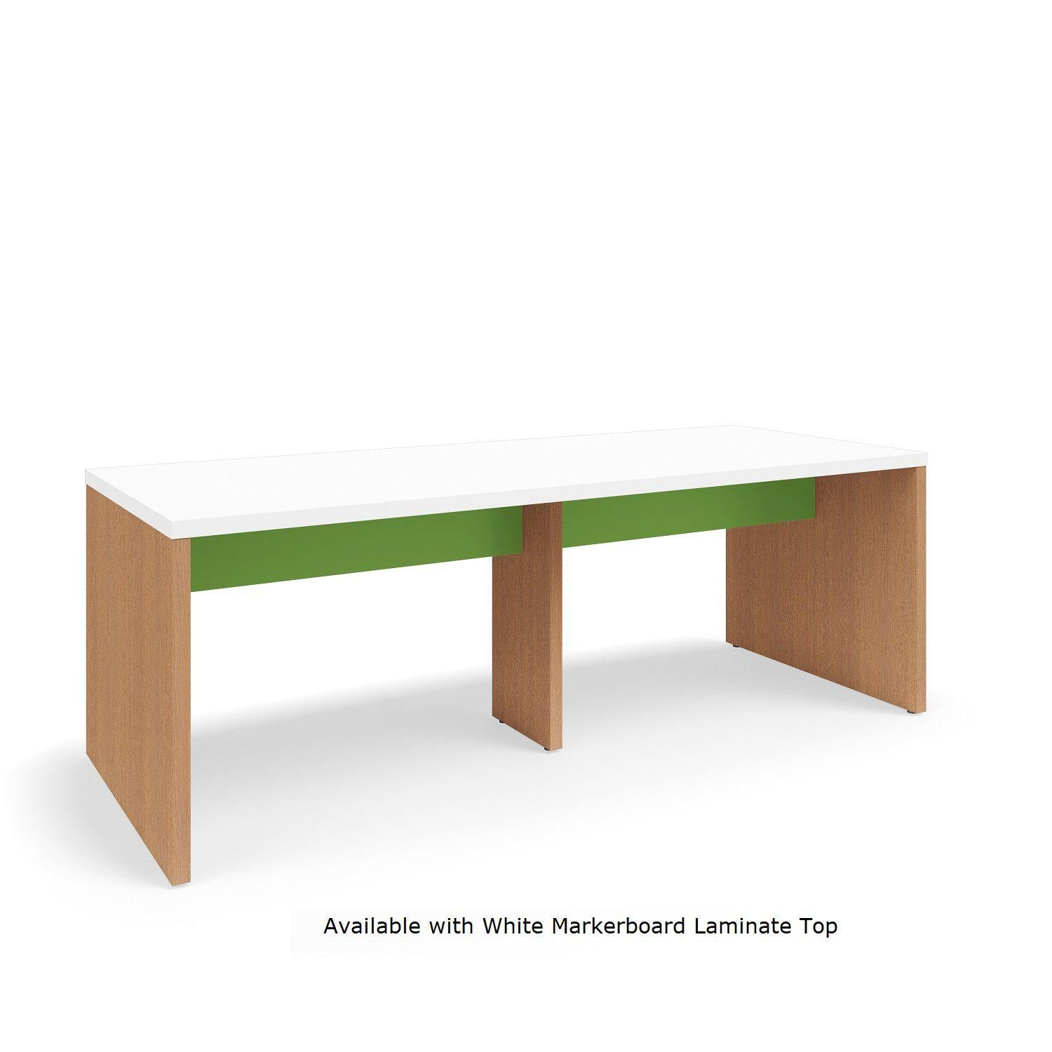 "Serenade Gathering Table, Café Height, Double-Sided, 48"" x 120"" x 42""H, Contrast Laminate"