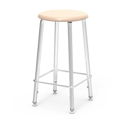 "121 Series Lab Stools with Hard Plastic Seats-Stools-24""-Sandstone-"