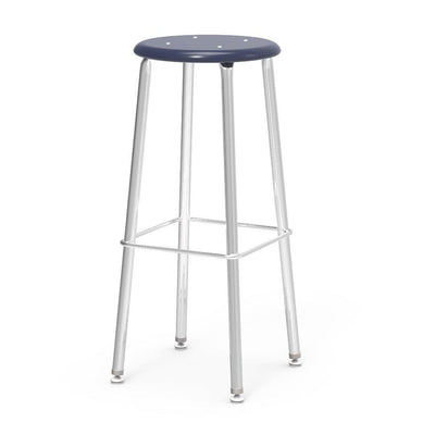 "121 Series Lab Stools with Hard Plastic Seats-Stools-30""-Navy-"