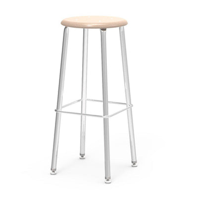 "121 Series Lab Stools with Hard Plastic Seats-Stools-30""-Sandstone-"