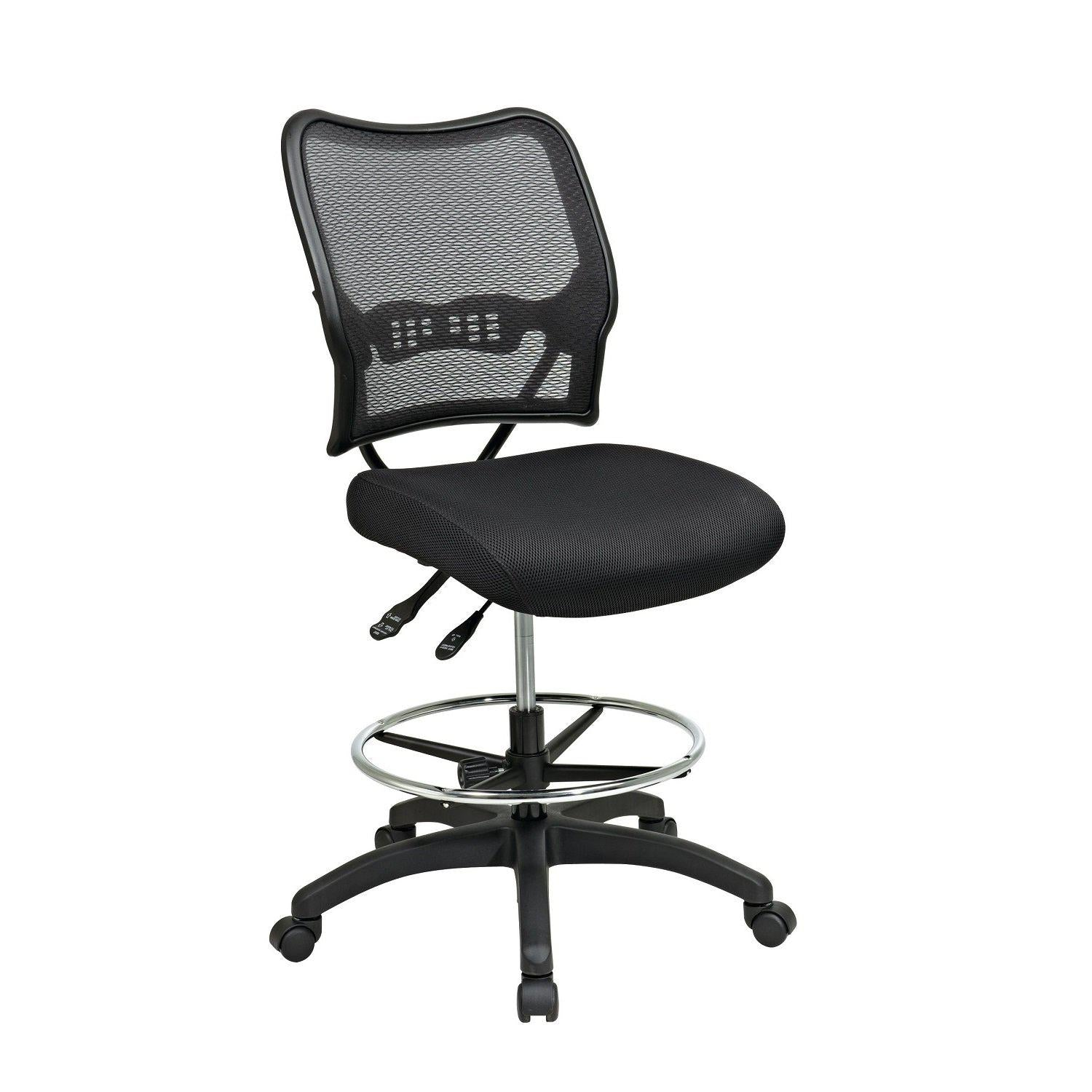 Deluxe Ergonomic AirGrid® Back Drafting Chair