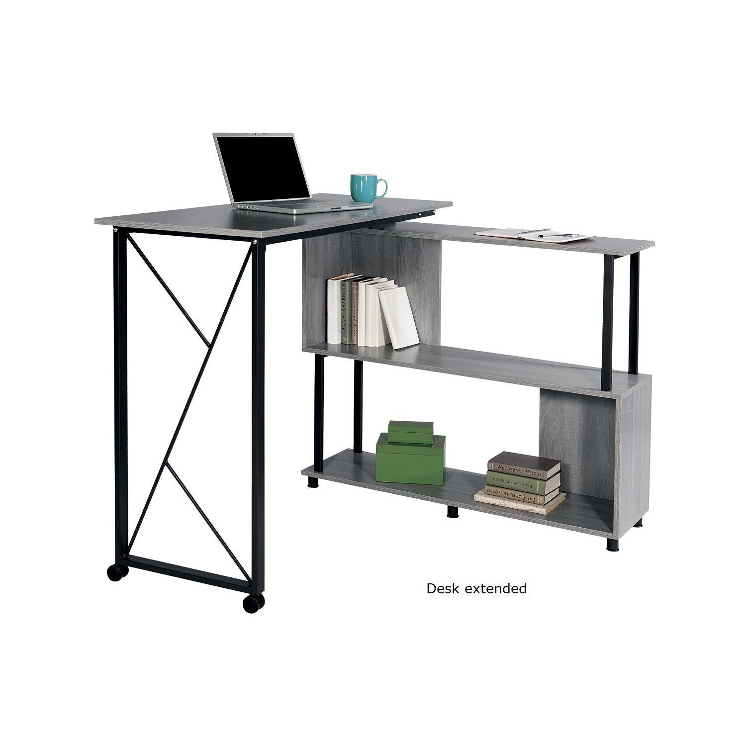 Mood™ Standing Height Desk with Rotating Work Surface