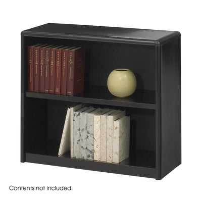 2-Shelf ValueMate® Economy Bookcase, Black
