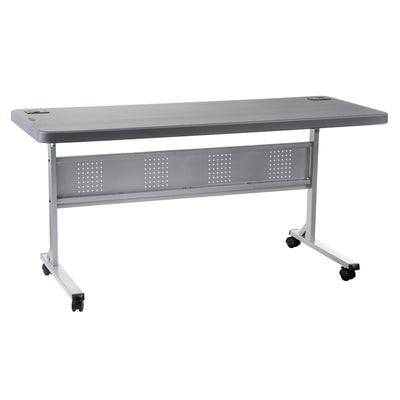 "24"" x 60"" Flip-N-Store Training Table-Tables-Charcoal Slate-24""x 60""-"
