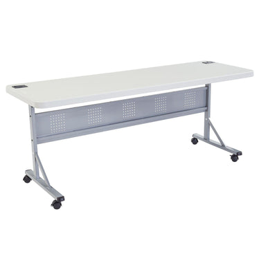 "24"" x 60"" Flip-N-Store Training Table-Tables-Speckled Grey-24"" x 72""-"