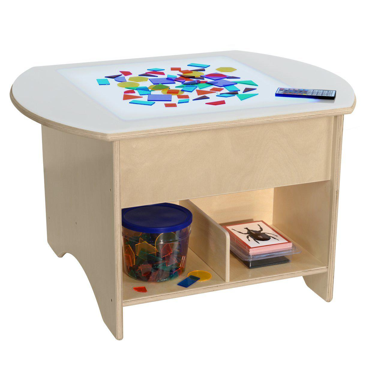"30"" Brilliant Light Table with Storage-Pre-School Furniture-"