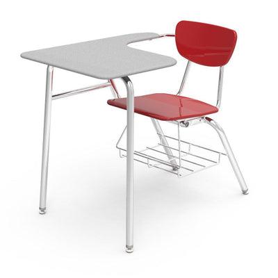"3000 Series Combo Unit with 18"" x 21"" x 30"" Top-Chairs-Red-Grey Nebula-"