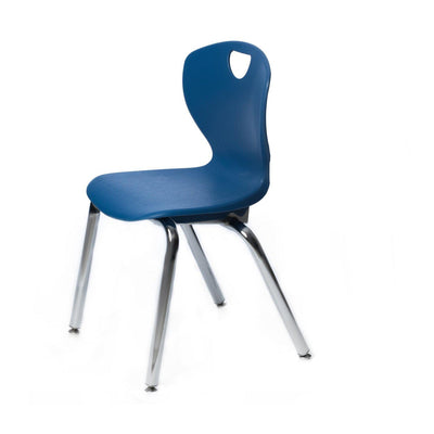 "Ovation Contemporary Classroom Stack Chair, 16"" Seat Height"