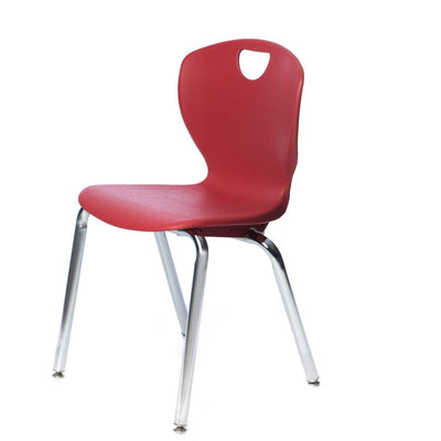 "Ovation Contemporary Classroom Stack Chair, 18"" Seat Height"