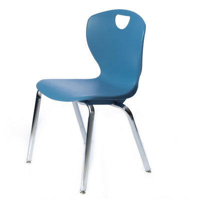 "Ovation Contemporary XL Classroom Stack Chair, 18"" Seat Height"