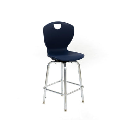 "Ovation Adjustable Height Swivel Stool, 24""-30"" Seat Height"